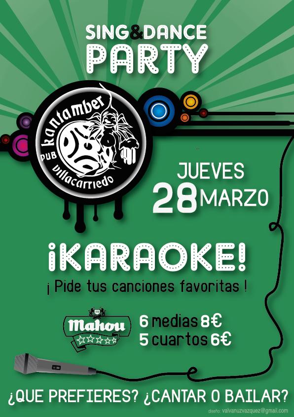 Karaoke Poster Idea Karaoke Party Poster on