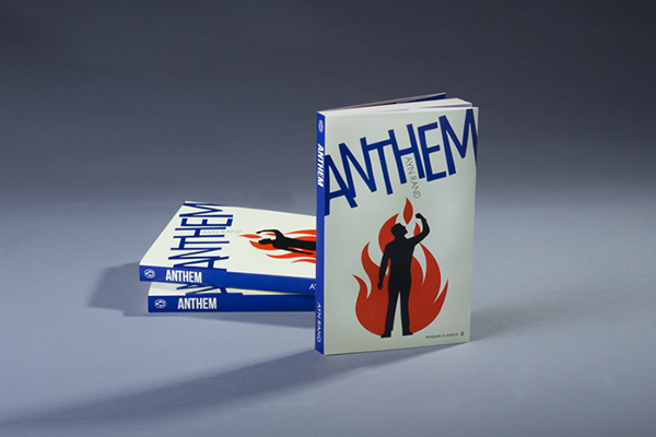 Anthem Book Cover On Aiga Member Gallery