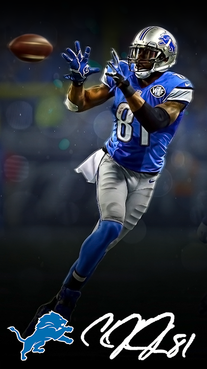 Detroit Lions Calvin Johnson Wallpaper On Behance