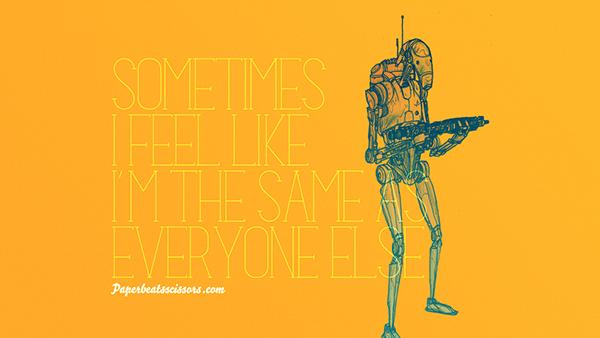 wallpaper droids star wars photoshop