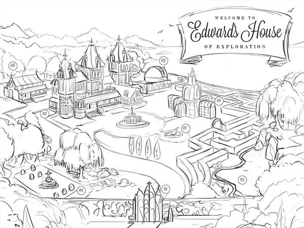Mowrey Manor Illustrat...