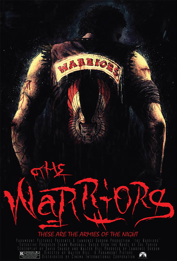 The warriors movie poster 1979 a
