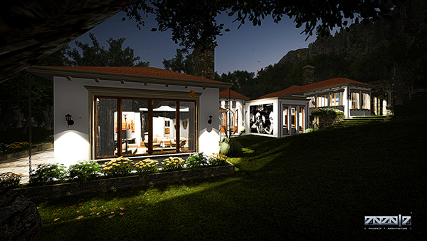 Mediterranean lux home m bim project on los andes portfolios