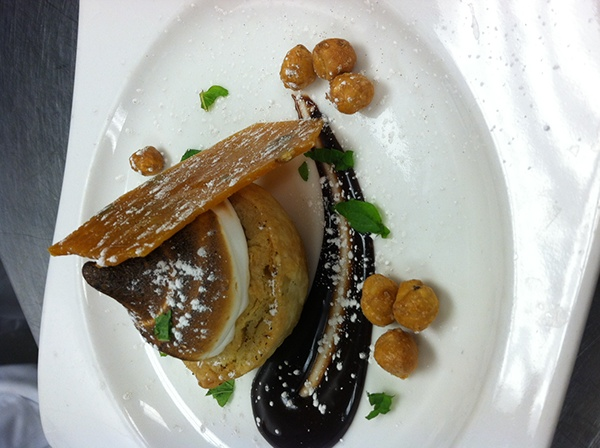Pumpkin Pie with Toasted Marshmallow, Pumpkin Brittle, Candied ...