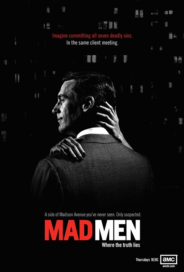 AMC Mad Men on Behance