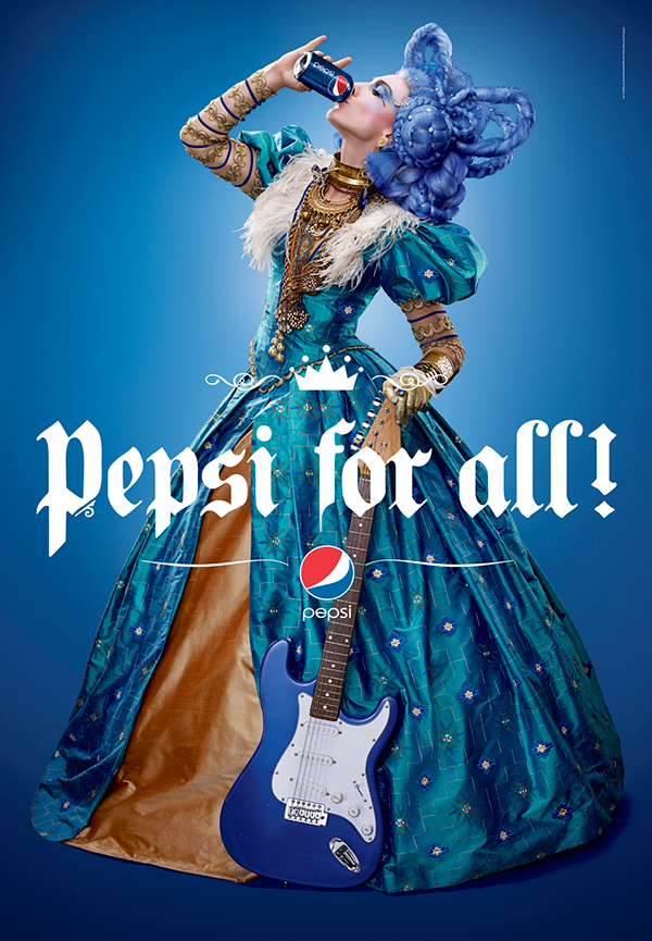 Pepsi Super Bowl Print ad
