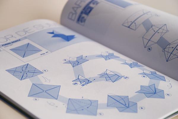 learn origami stepbystep book on behance