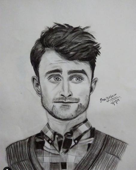 Image may contain: man, sketch and drawing