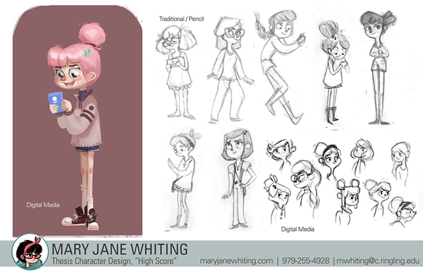 3d Animation And Character Design Fanshawe College : Hi score d animated student short on show