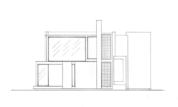 What Is A Front Elevation Drawing : House vi on mica portfolios
