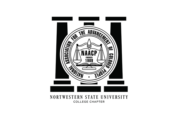 Northwestern State University NAACP Logo on Behance Naacp Youth And College Logo