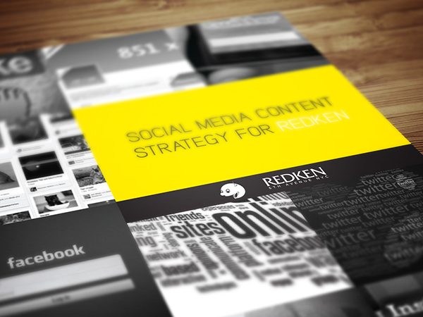 strategy document design layout on behance