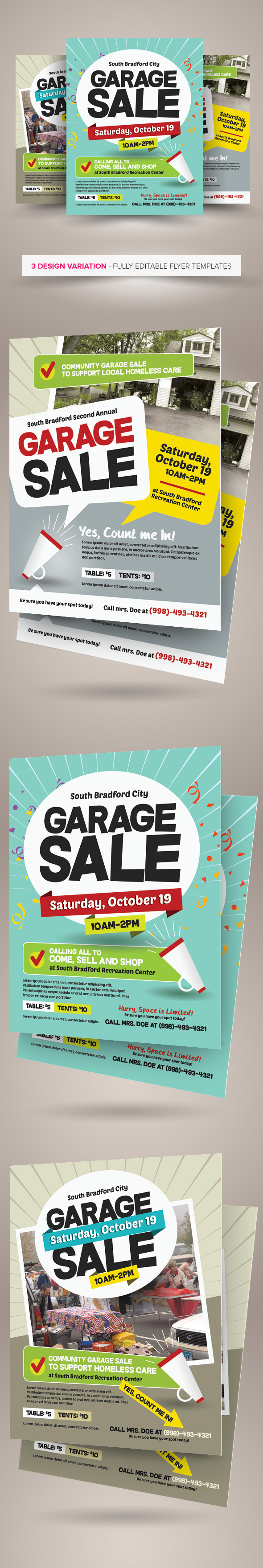 garage flyer templates on behance garage flyer templates are design templates created for on graphic river more info of the templates and how to get the sourcefiles can be found