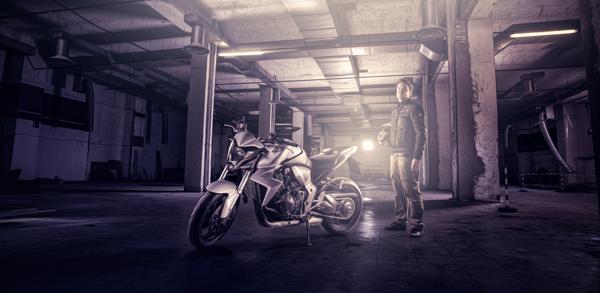 compositing postproduction CreativeProShow Bike Workshop