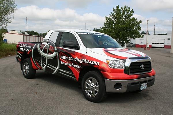 Coad Toyota On Behance