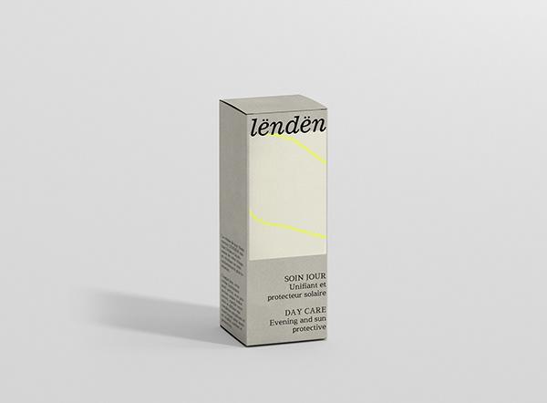 Lëndën skincare: branding and packaging