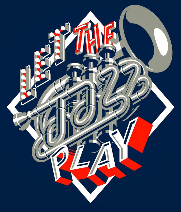 mightyshort Davy Le Chevance Jazz Poster letthejazzplay short jazz