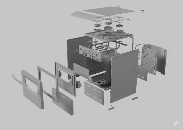 steel car refrigerator