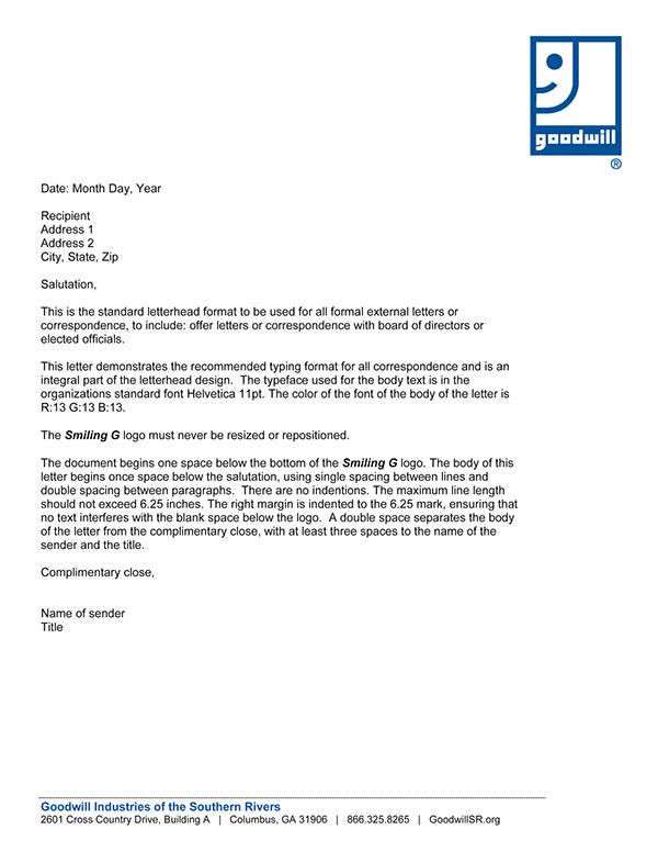 GoodwillSR Brand Standards Documents on Behance
