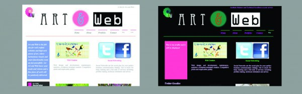 Art & Web - WP theme