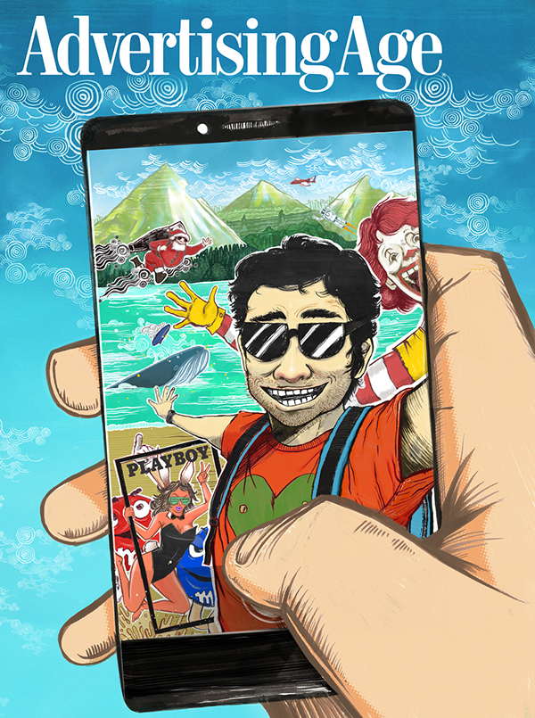 age adage mcdonald Honda asimo playboy selfie photobomb santa coke M&Ms