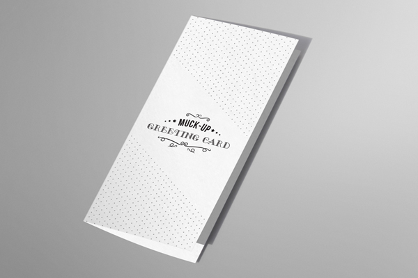 Invitation Greeting Card Mockup on Behance