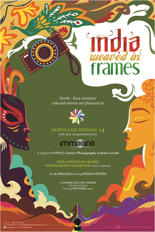 India Weaved In Frames Photography Exhibition