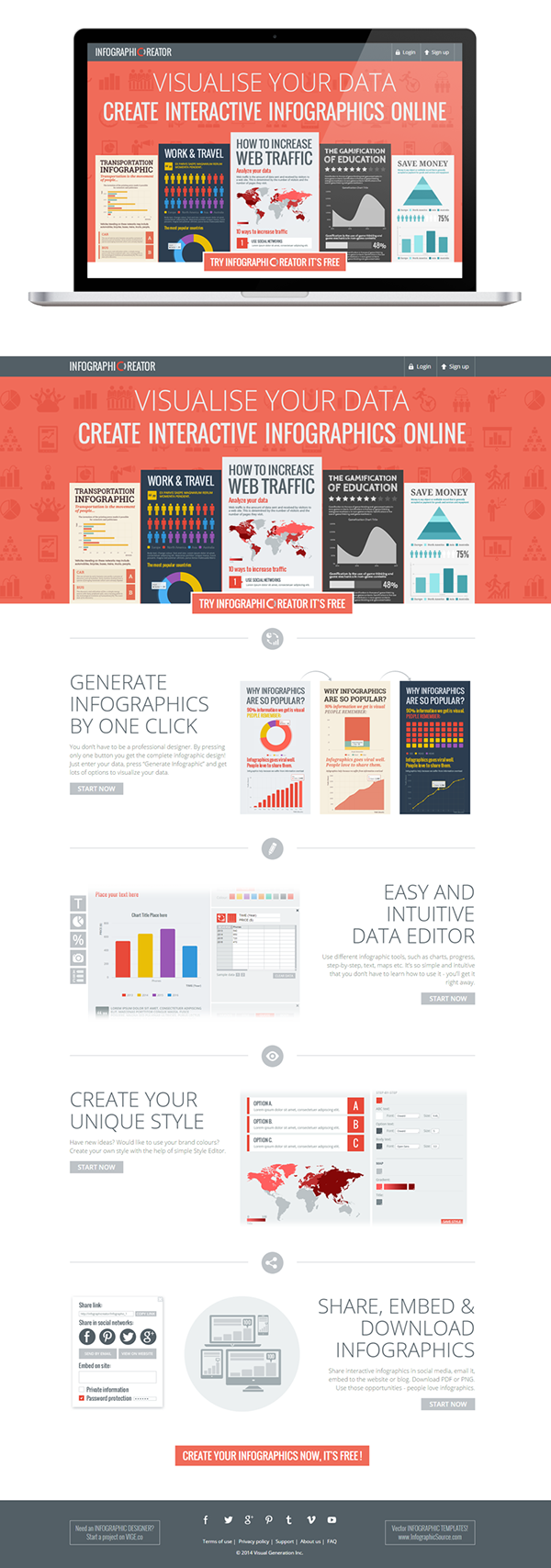 Create infographics online free