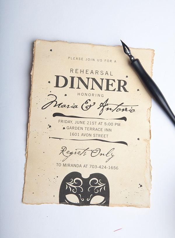Shakespeare Wedding Invitation Suite on Behance