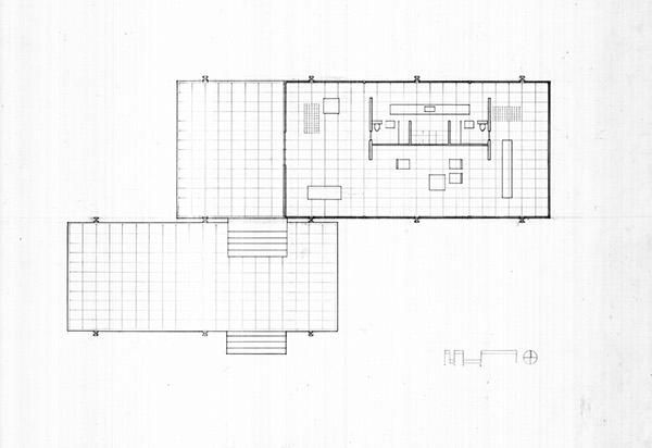 Farnsworth house for Farnsworth house floor plan