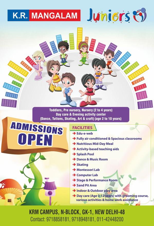 Juniors School Pamphlet Design on Behance