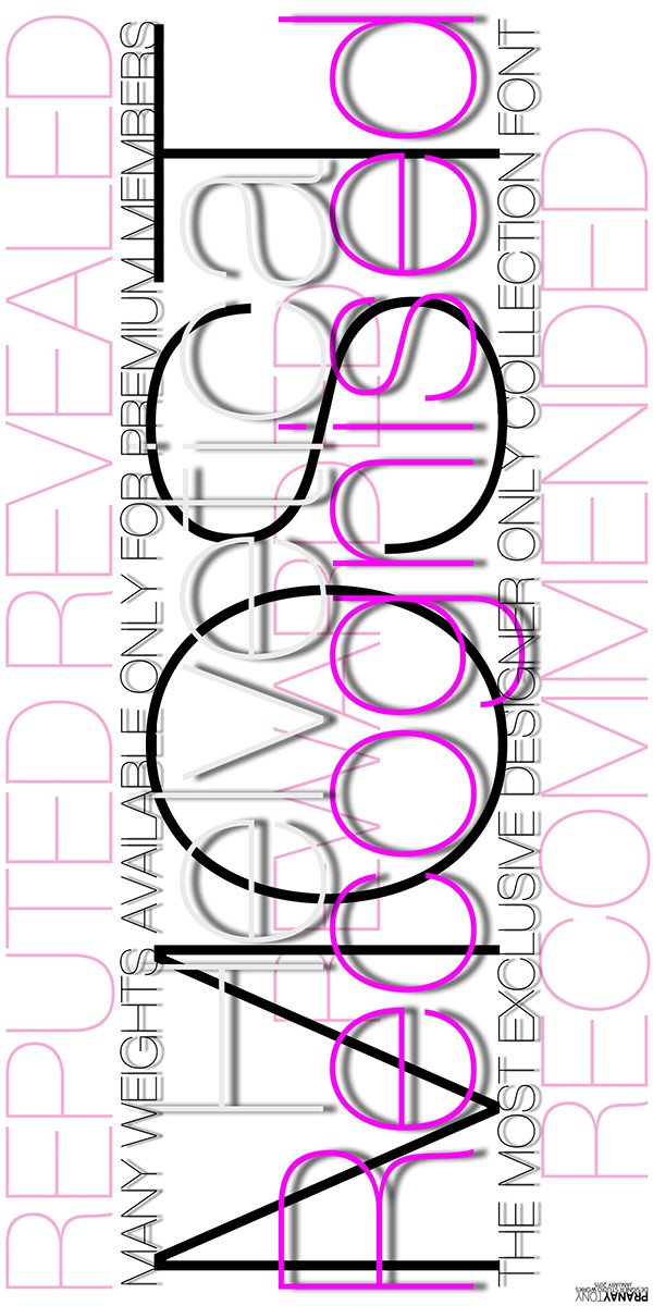 Helvetica Font Typography Poster! on Student Show