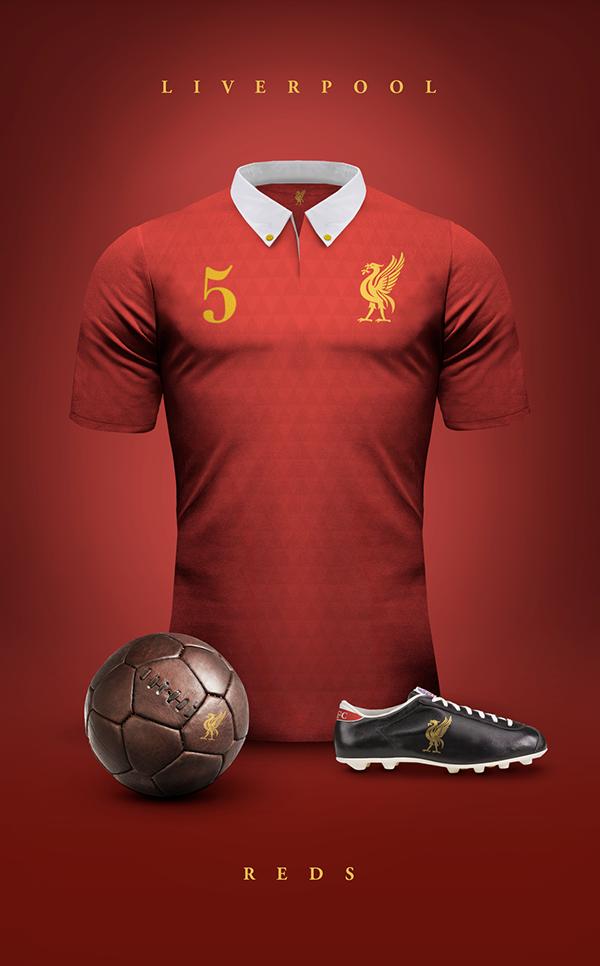 9531a5c6e Liverpool vintage Jersey by Emilio Sansolini   LiverpoolFC