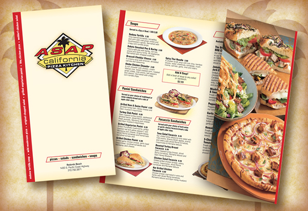 California Pizza Kitchen Asap Menu