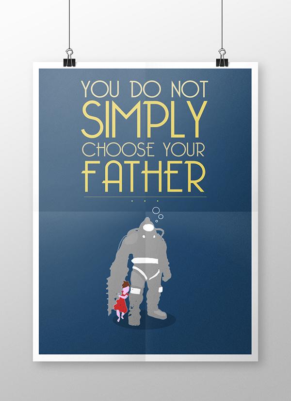 affiche dessin mass effect créations diverses BioShock