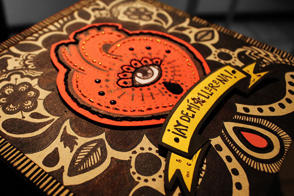 La Llorona MDF box caja de madera Crafter craft diseño Son itsmeño
