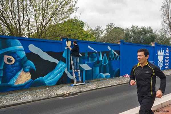 Lisbon Portugal wall