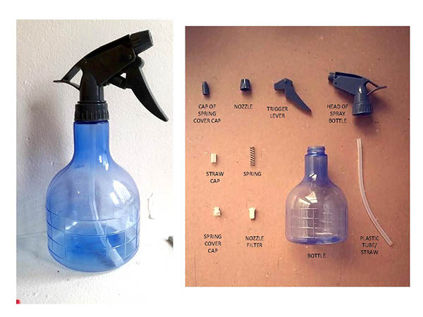 Water Spray Bottle Project Assembly On Saic Portfolios