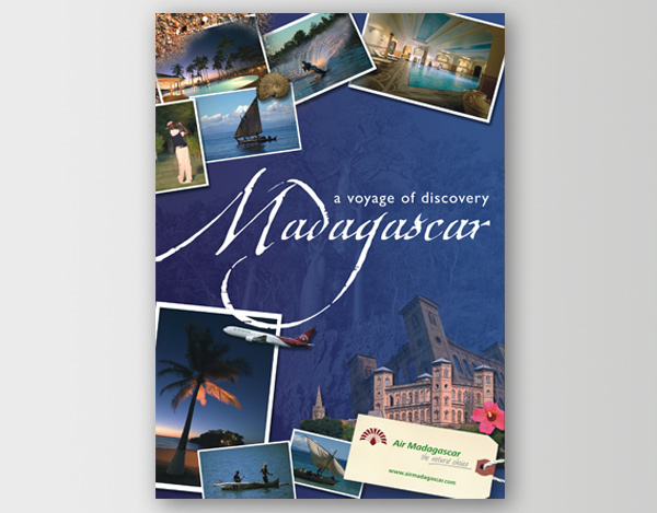 Air Madagascar Brochure And Poster Design On Behance