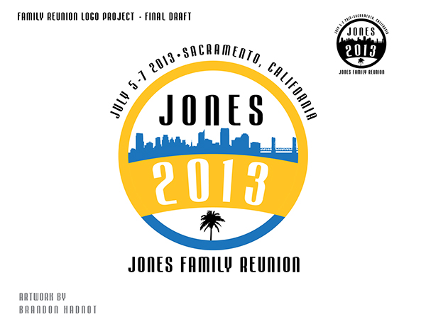 family reunion logo design project on behance
