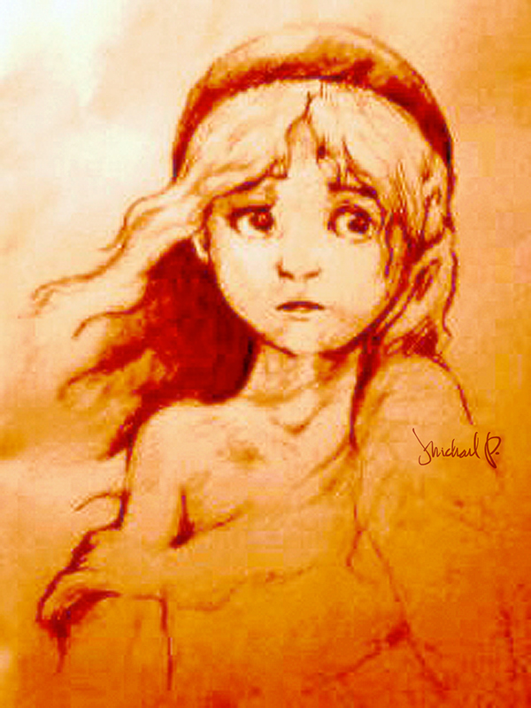 Les Miserables Cosette Drawing Les Misérables
