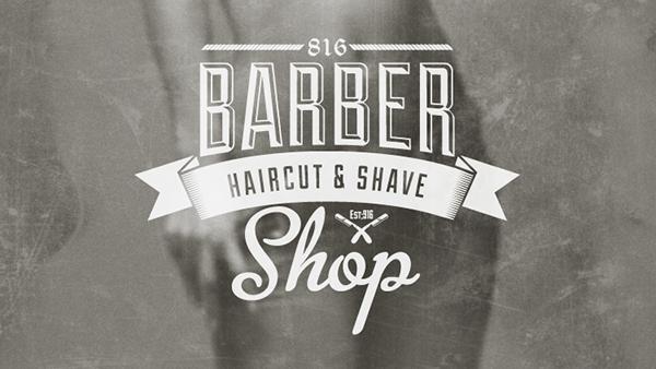 Barber Shop Vintage Label (Free Download) on Pantone Canvas Gallery
