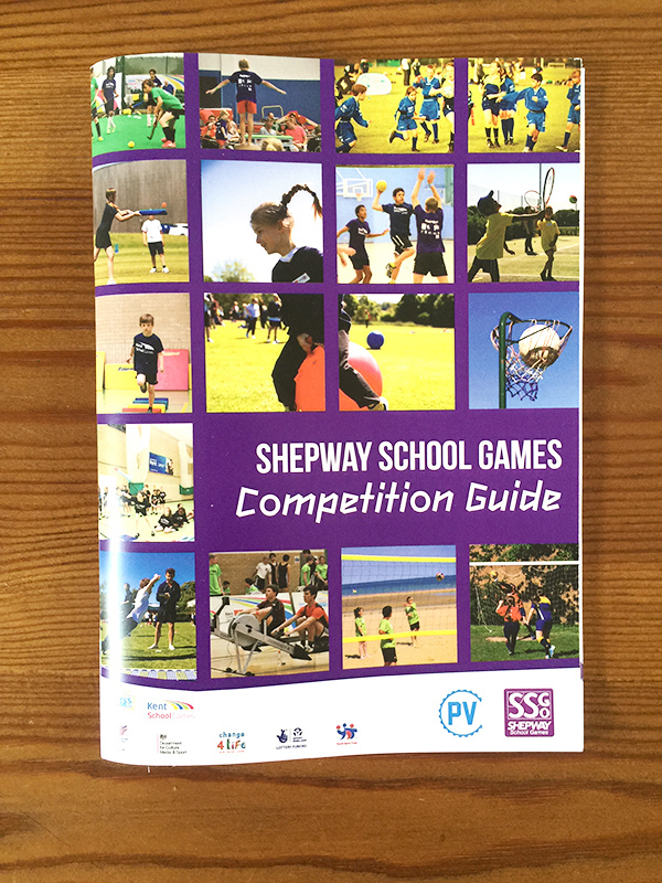 ssg shepway school Games Booklet Competition Guide Students primary secondary sport