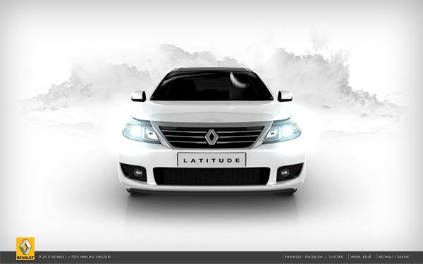 renault latitude ladybug Yellowbird 360 degrees test drive virtual world car executive