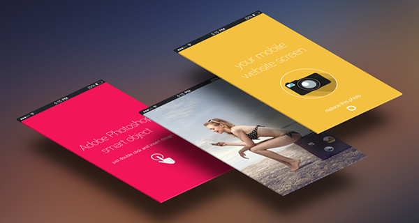 mobile app presentation mockup psd on behance