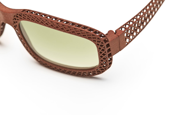 Hatch - 3d printed sunglasses for Eyewear Kit on Behance