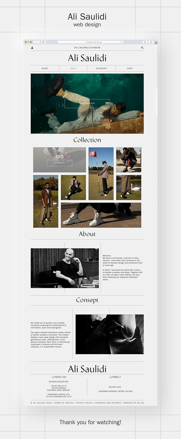 Web Design   UI & UX   Ali Saulidi