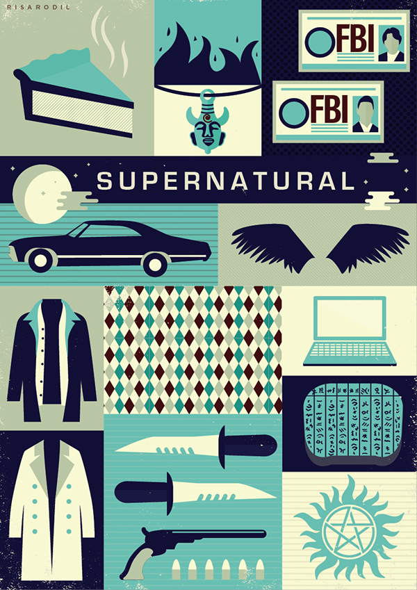 Saving People Hunting Things The Family Business On Behance