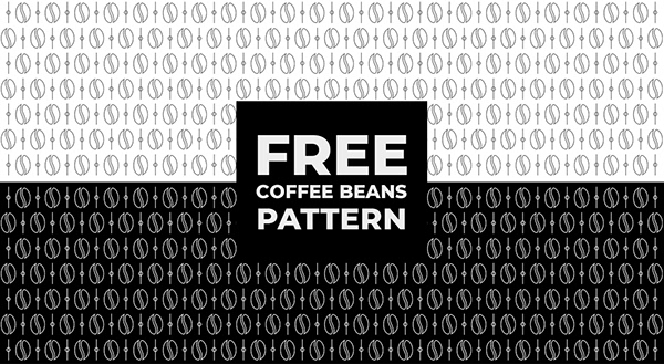 Free Download Coffee Beans Pattern