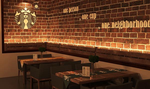 245 45 17 >> starbucks cafe - interior design Proposal on Behance